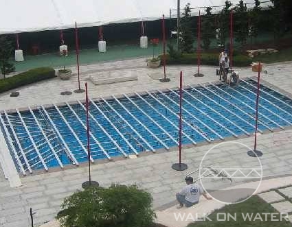 Walk On Water LLC, - Over Pool Event Flooring, Over water ...